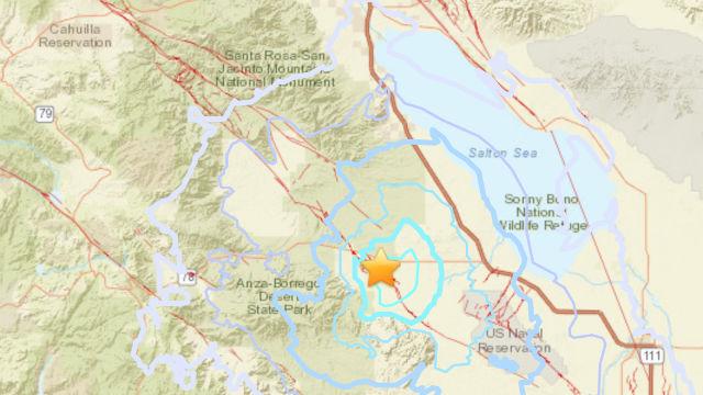earthquake map u s geological