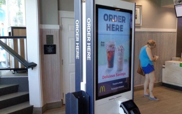Digital ordering kiosk