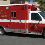 Paramedics van