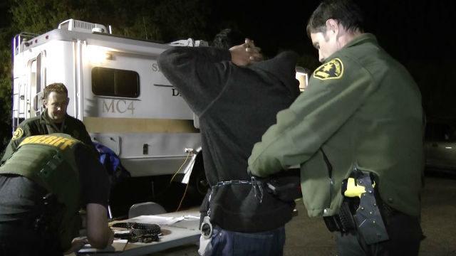 Prostitution sting arrest