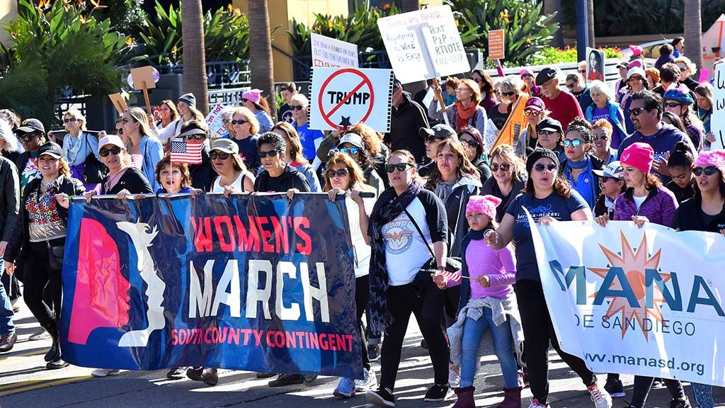 San Diego Women's March 2018