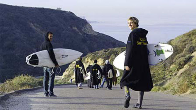 UC San Diego surf team