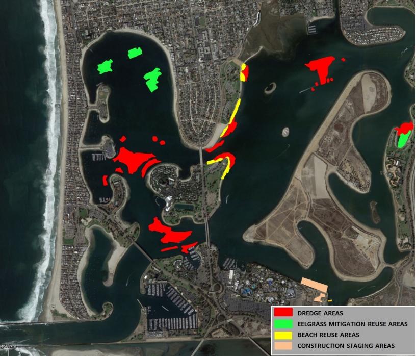 Good News For Boaters: Mission Bay Dredging Project Begins