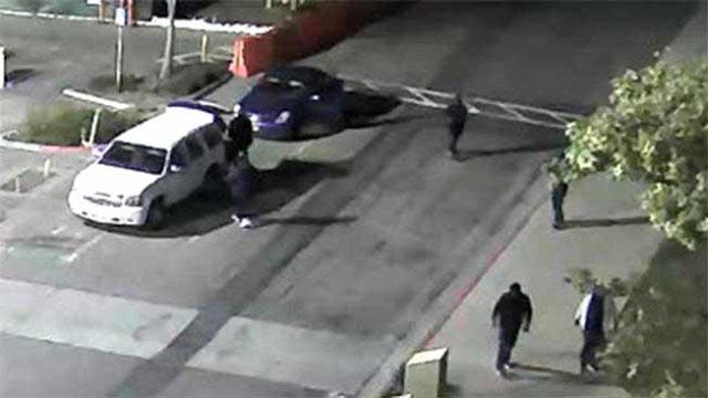 Hermès Paris suspects shown in surveillance video image.