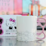 Hellow Kitty Cafe Truck lifestyle - bow handle mug-2