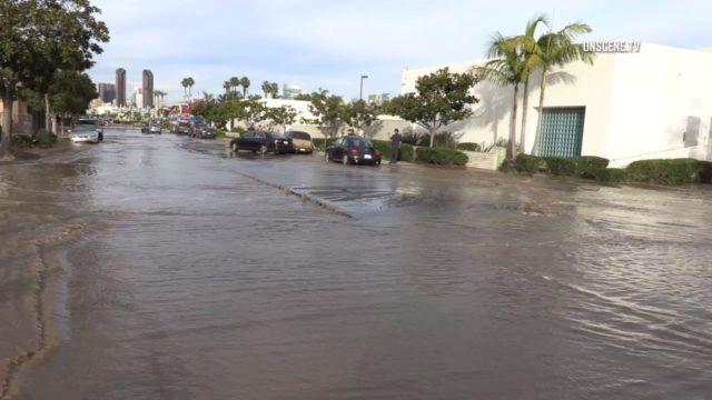 flooded Coronado street