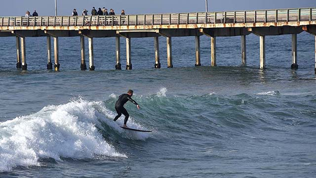 Week of High Surf Forecast for San Diego Beaches - Times of