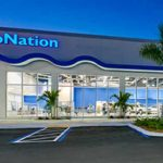 AutoNation center in Hollywood.