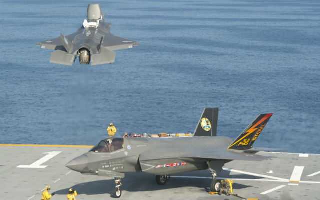 F-35B jets