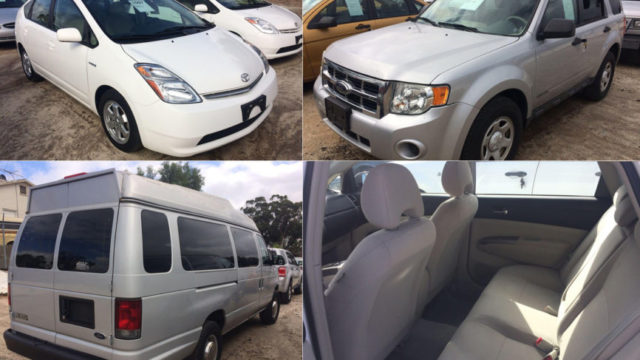Vehicles for auction