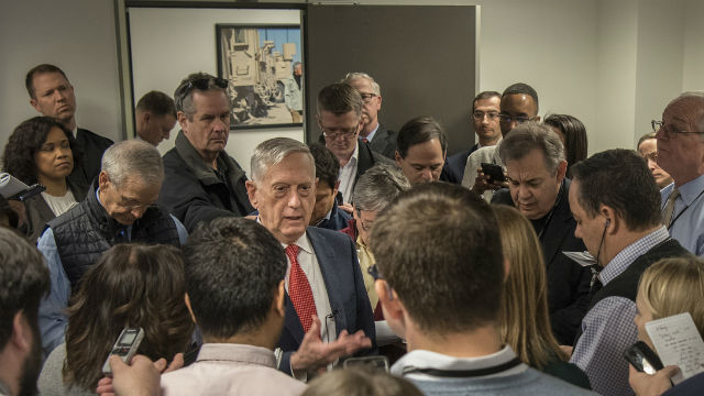 Mattis: DACA Troops Aren't At Risk Of Deportation