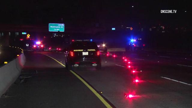 Highway Patrol vehicles