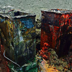 Paint dripping for old tanks