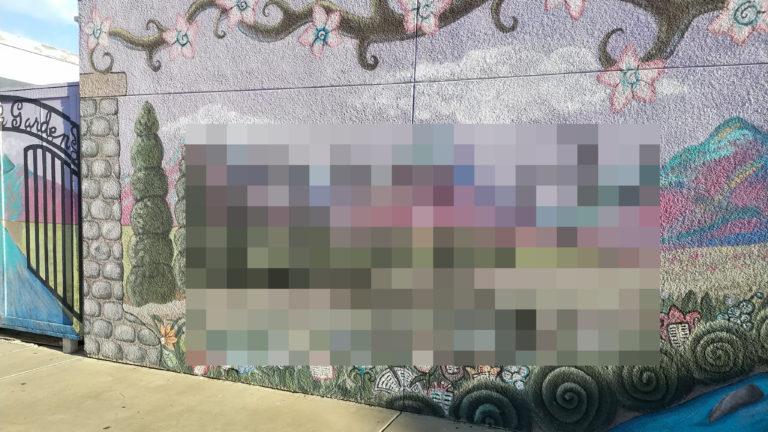 Graffiti at Rancho Bernardo High Threatend Noon School ...