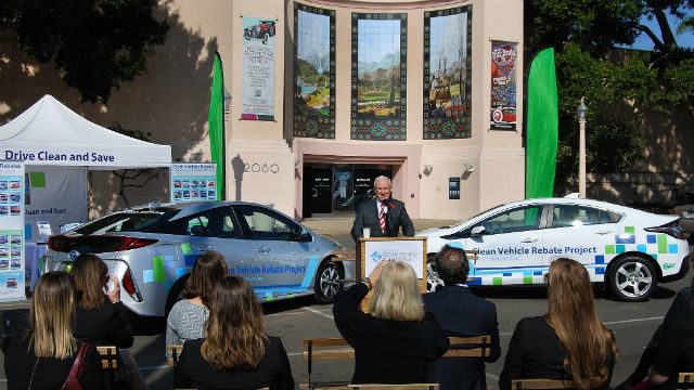Instant Rebate Program For Electric Vehicles Offered In San Diego