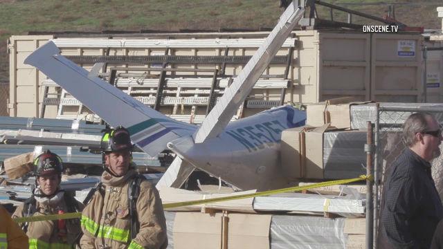 Plane wreckage