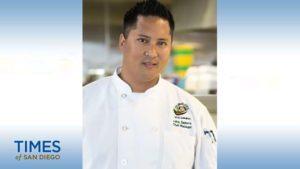 San Diego State University chef John Zamora.