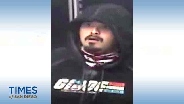 Suspect's photo from surveillance video.