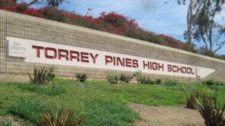 Torrey Pines High School sign