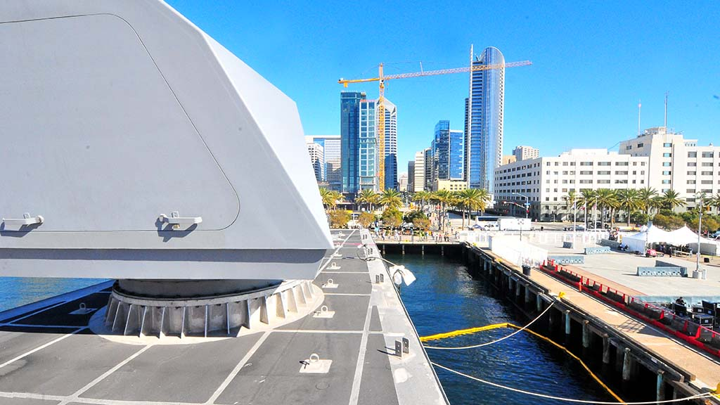 The USS Omaha will be based in San Diego.