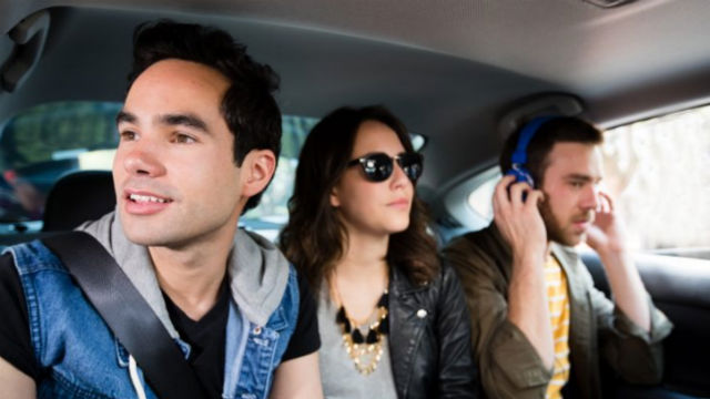 Uber Pool riders