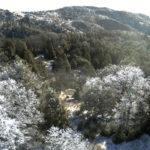 Snow on Volcan Mountain