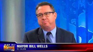 El Cajon Mayor Bill Wells.