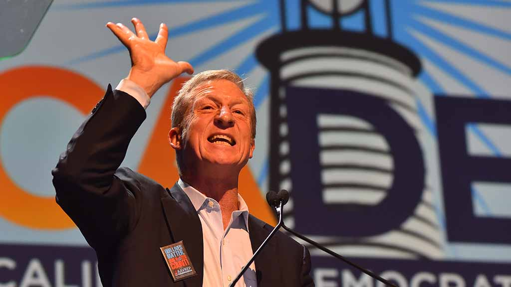 "Tom Steyer of NextGen America says: ""Enough. We have to restore integrity to our party by rededicating ourselves to our core values — fairness for every worker, equality for every person, justice for every voter, and dignity for every human being."""