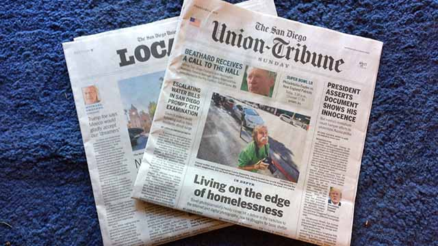 Tronc Pushes Into Digital Future After Los Angeles Times Sale