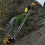 Firefighters rescue two people