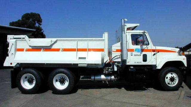Caltrans truck