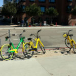 Dockless bicycles