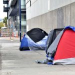 Homeless tents downtown 2