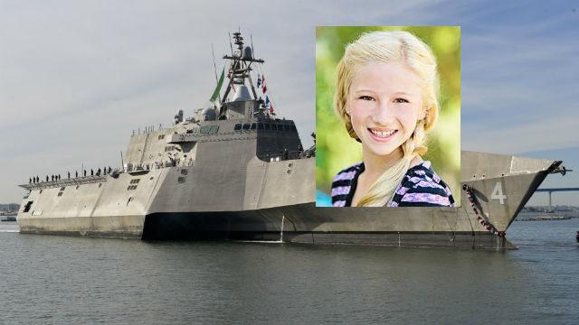 Isabellle Richards and USS Coronado