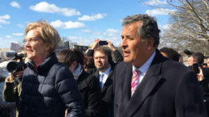 Juan Vargas and Elizabeth Warren