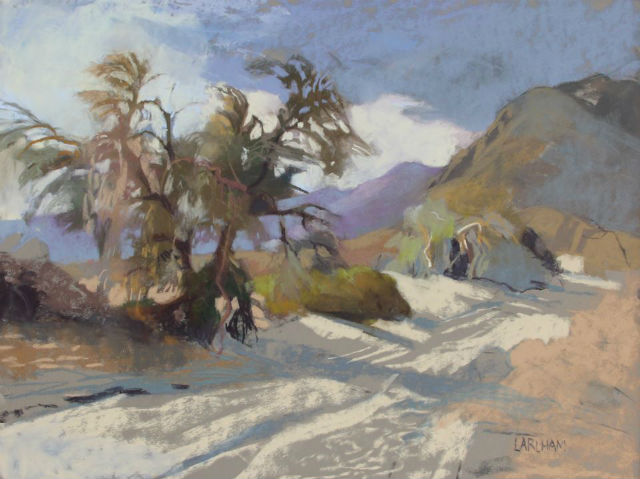 Pastel by Margaret Larlham