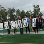 Students walk out at Mira Mesa High School