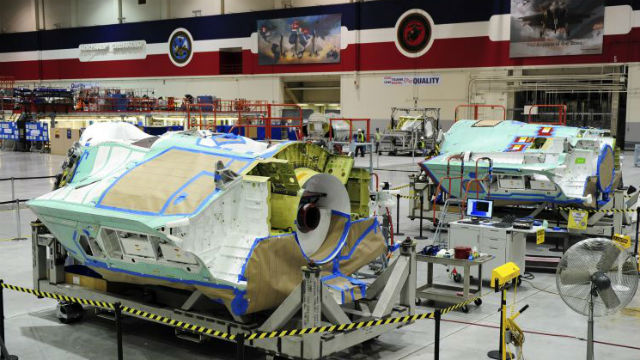 F-35 under construction