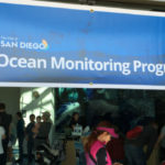 Banner for ocean monitoring program