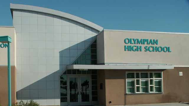Olympian High School in Chula Vista.