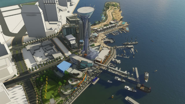 Seaport San Diego rendering