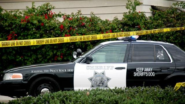 sheriff crime scene