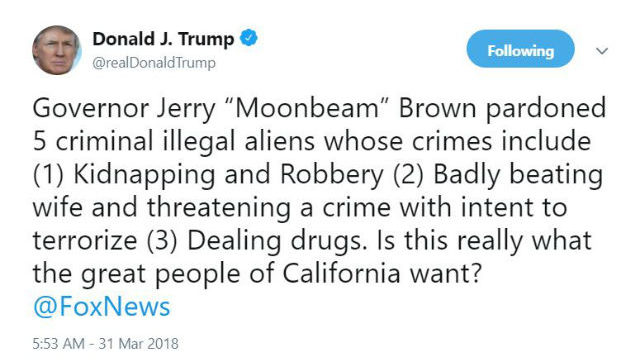 Image result for photos of governor brown granting pardons