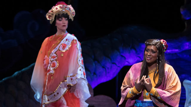 "Scene from ""Turandot"""