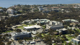 UCSD aerial view