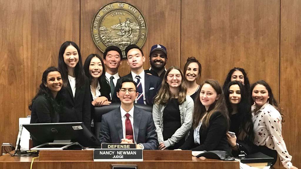 UCSD mock trial team 2018