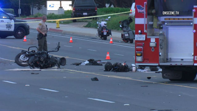 5 North County Motorcycle Club Members Seriously Injured in