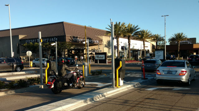 Westfield UTC parking controls