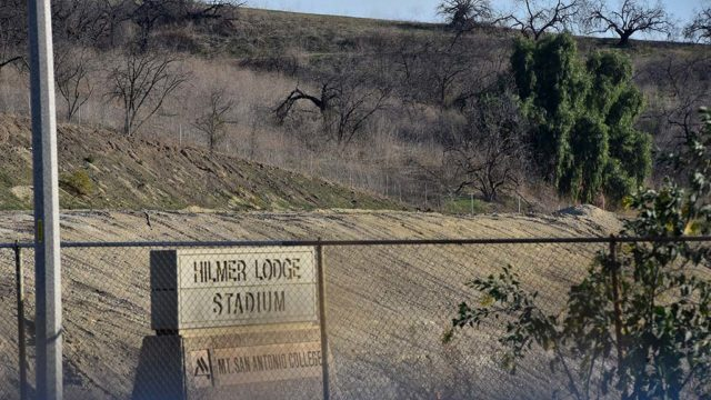 Mt. SAC hillside is set to be east section of new Hilmer Lodge Stadium.