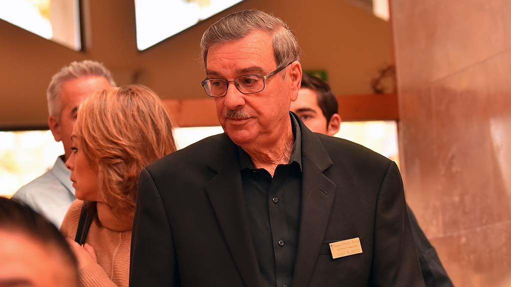 Tony Blanco is a hospitality minister at Corpus Christi Catholic Church in Bonita.